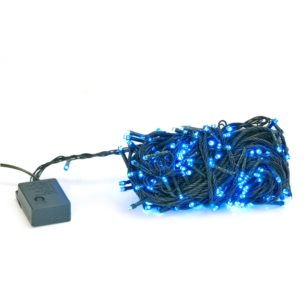 E10C LAMPKI CHOINKOWE BLUE 250LED 20M